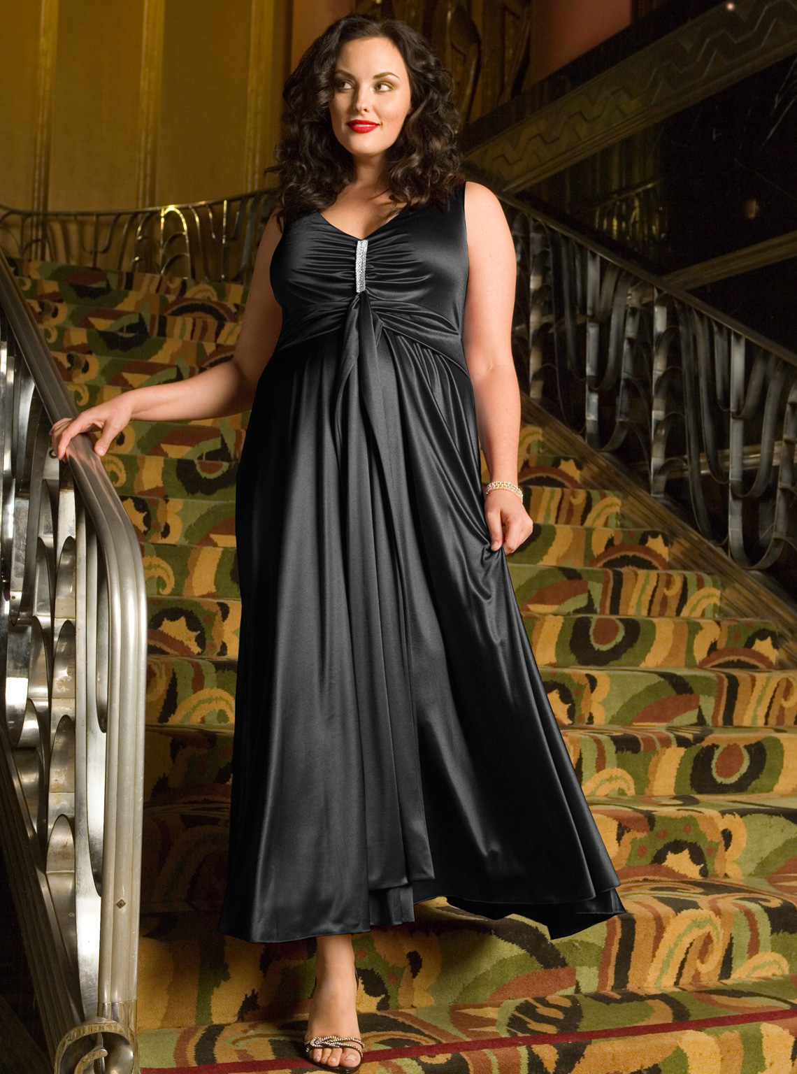 Plus size evening dressesa