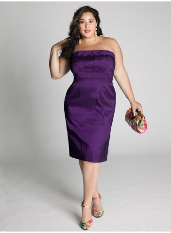 Black Dress on Plus Size Cocktail Dresses To Look Slim And Slender   Dressity
