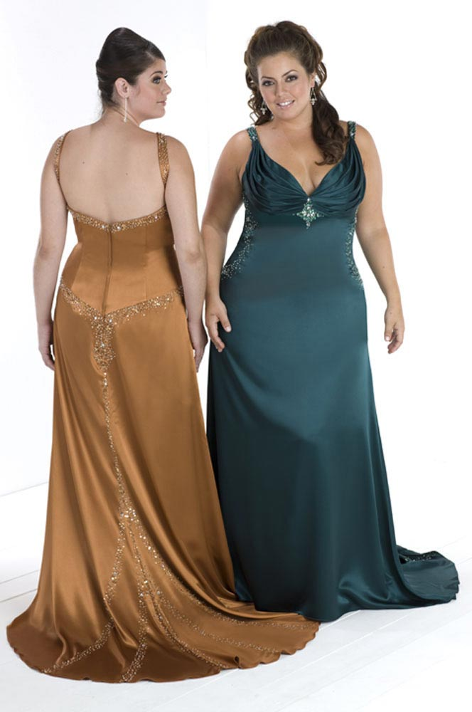 Big Is In Fact Beautiful, Plus Size Formal Dresses