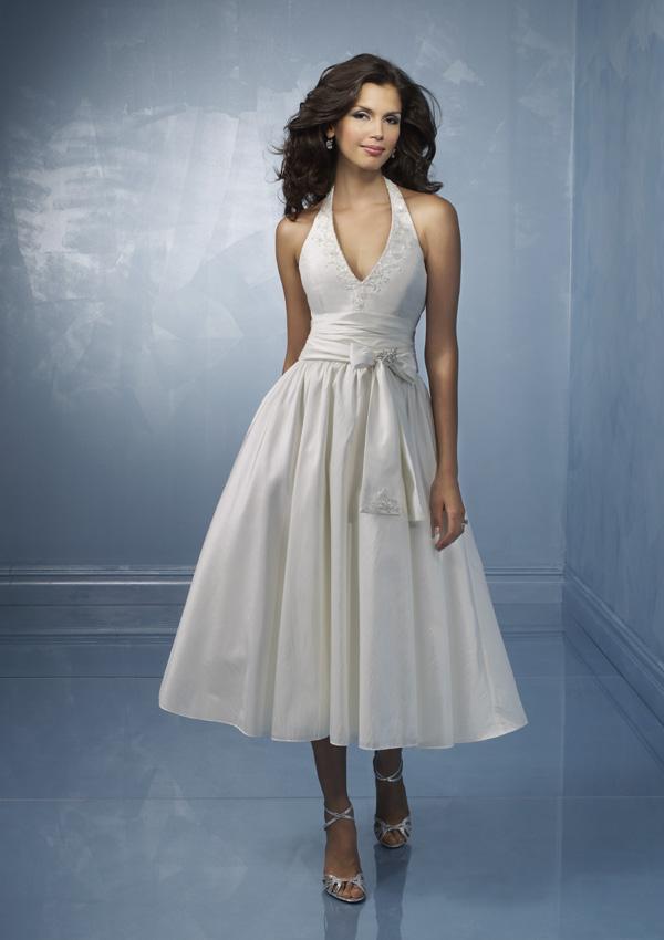 Tea Length Wedding Dresses Offer Brides Comfort And Elegance Without ...