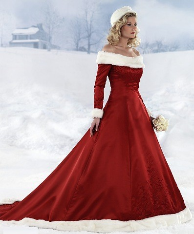Choosing A Snow White Winter Wedding Dresses - Dressity