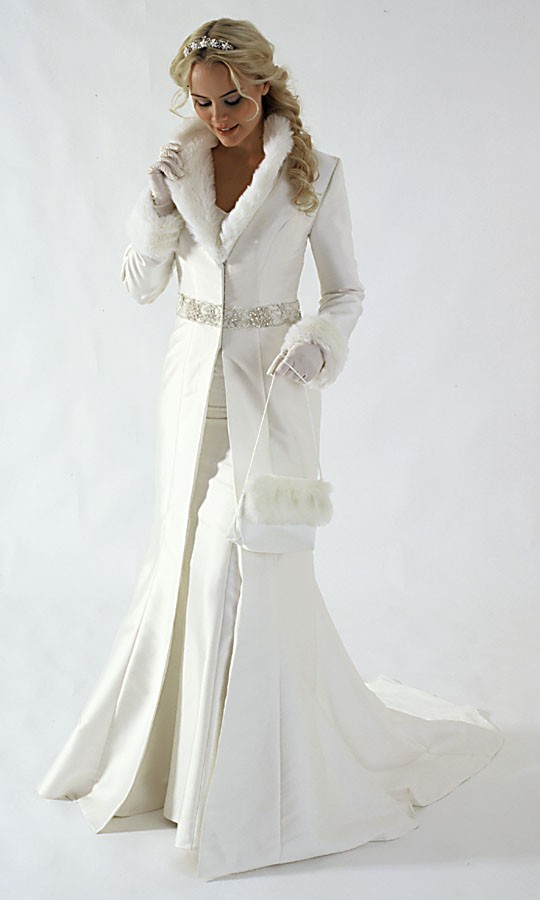 Choosing A Snow White Winter Wedding Dresses