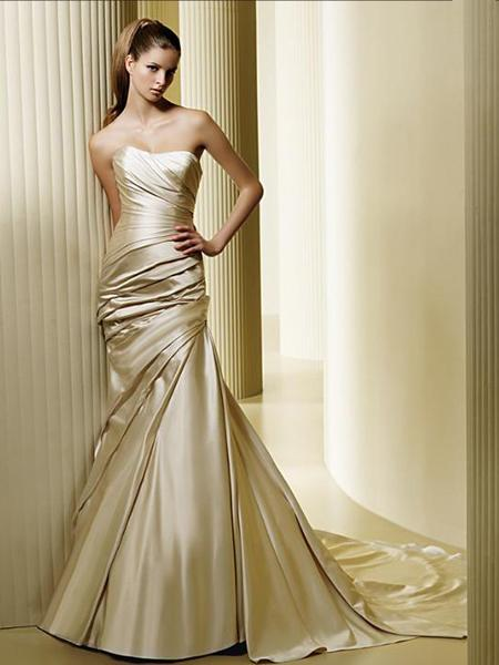 Alpha Prosperity Events Blog Post - Gold Wedding Accents, Gold Wedding Dress