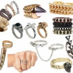Metal accessories are a hot trend this season. Whether it be silver, gold, rose gold, black metal etc. Metals, metals, metals is what you'll be seeing!