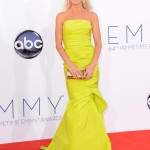 Julie Bowen in Monique Lhuillier (Getty)