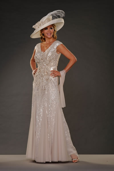 mother of bride designer dresses - Dress Yp